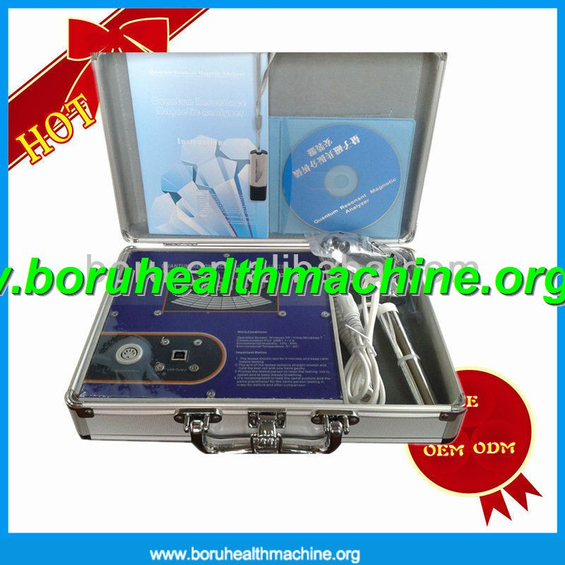 New arrival Magic Quantum Resonant Magnetic Health Analyzer 2012