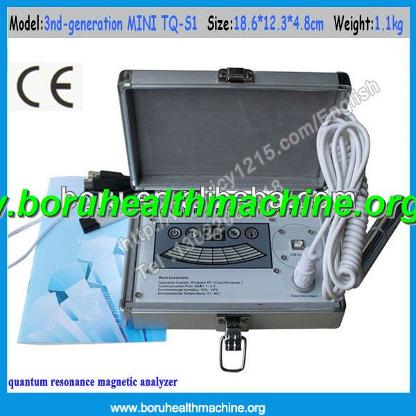CE Approved 39 reports English version Quantum Resonance Magnetic Analyzer/ Quantum Body Health Analyzer
