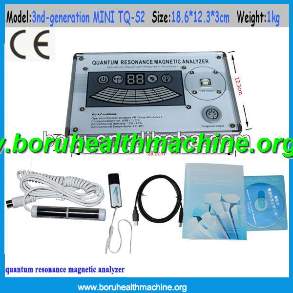 CE 39 reports English version Professional body quantum resonance magnetic analyzer