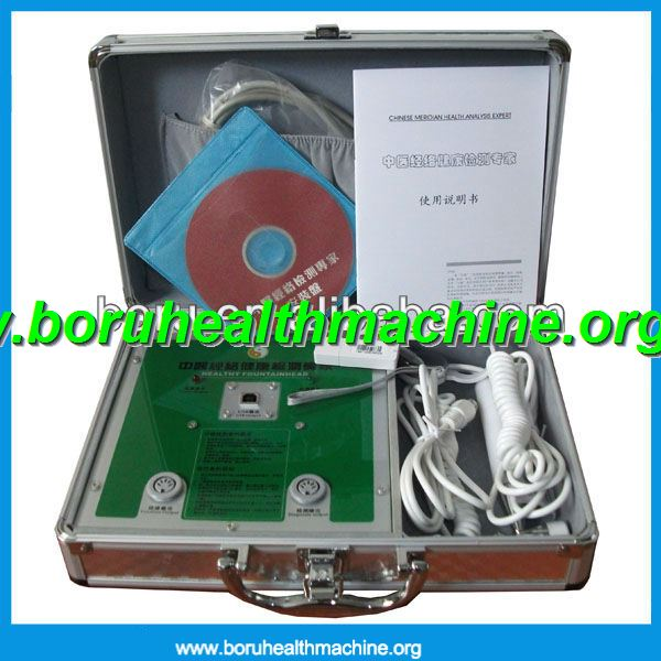 CE approved and OEM Meridian body health analyzer or acupuncture detector