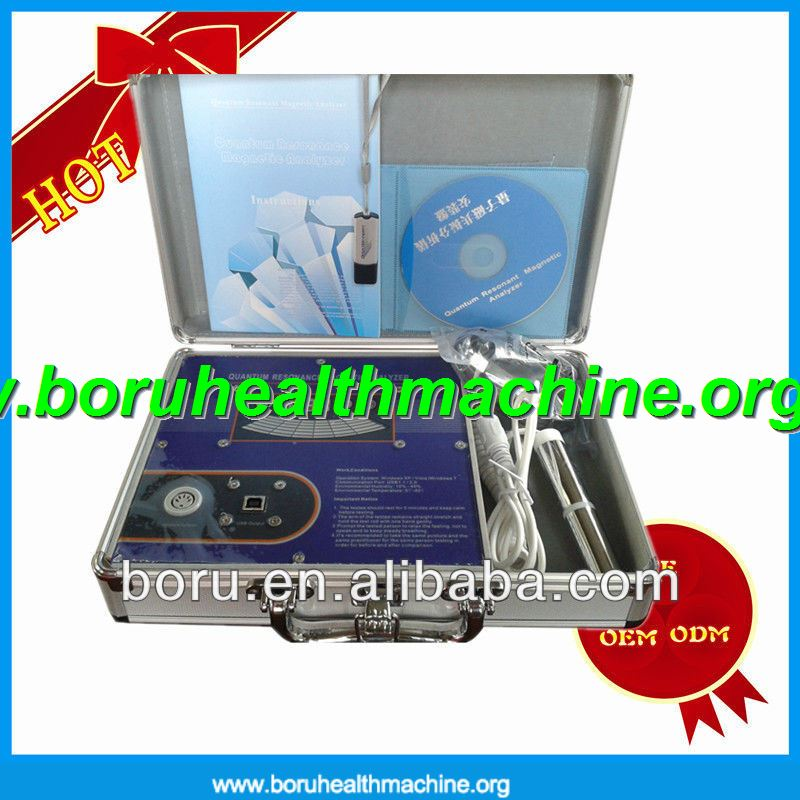 2014 New quantum magnetic resonance body analyzer,with CE certificate,9 language version optional