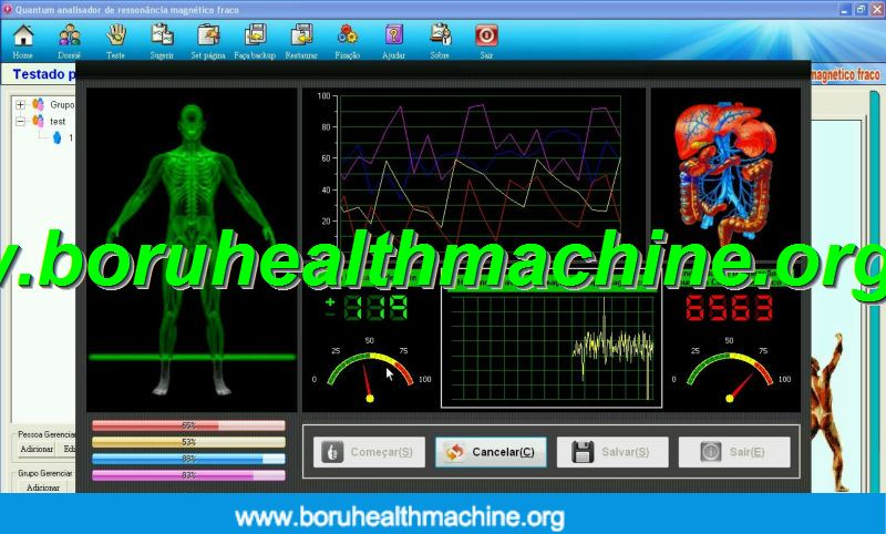 Portuguese quantum magnetic resonance health analyzer 38 reports quantum analyzer