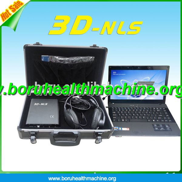 Newest Prefessional oringinal russian 3D NLS sub health analyzer 3d quantum analyzer