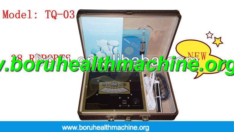 Portable Quantum magnetic health analyzer with different language TQ-03 model