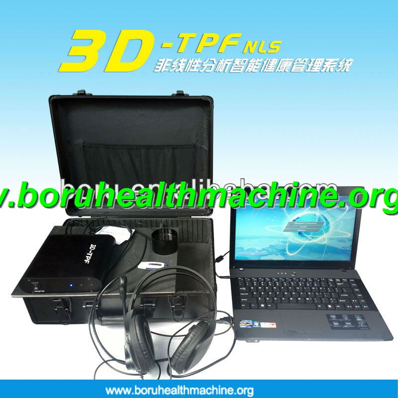 2014 the Newest arrival 3D NLS health analyzer