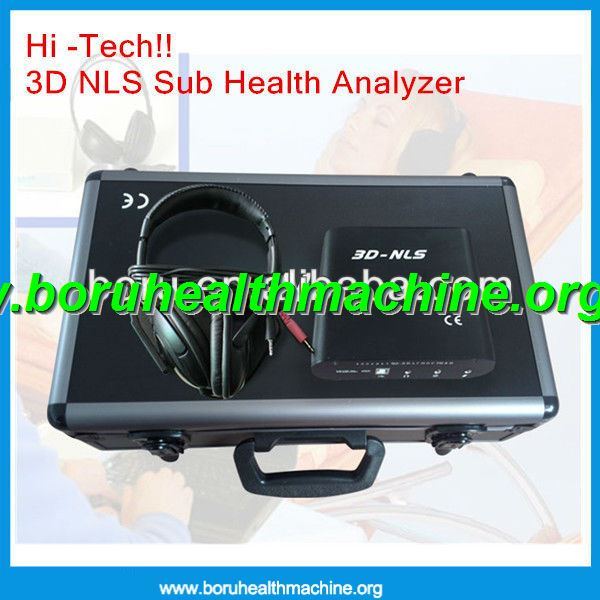 Hi -Tech!! 3D NLS Sub Health Analyzer For Testing Full Body