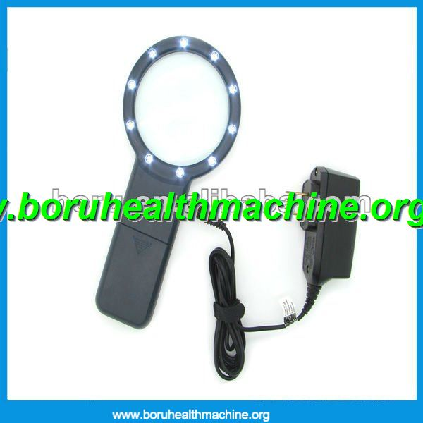 Led Light Reading Magnifying Glass 3X Magnification