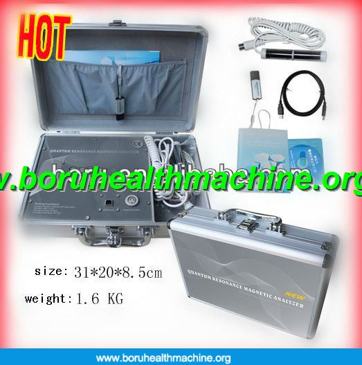 Korean version Professional body quantum resonance magnetic analyzer with 39 quantum reports