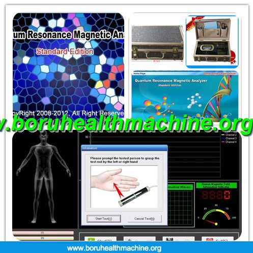 Women Magnetic Resonance Quantum Health Analyzer With Malaysian Version