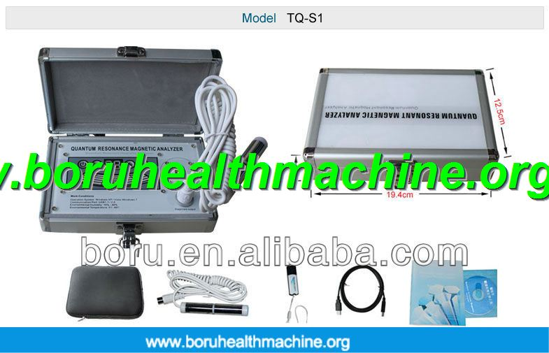Slovakian Version Non Invasive Quantum Health Analyzer For human body health analyzer