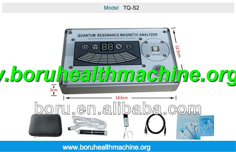 Original Software Quantum Magnetic Resonance Body Analyzer With French Version hot selling