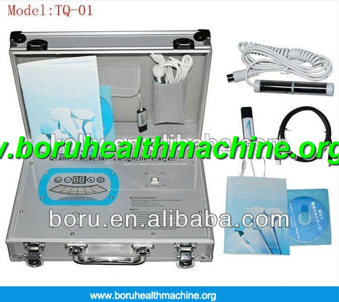 Hot selling quantum magnetic resonance health analyzer 2013 quantum body health analyzer