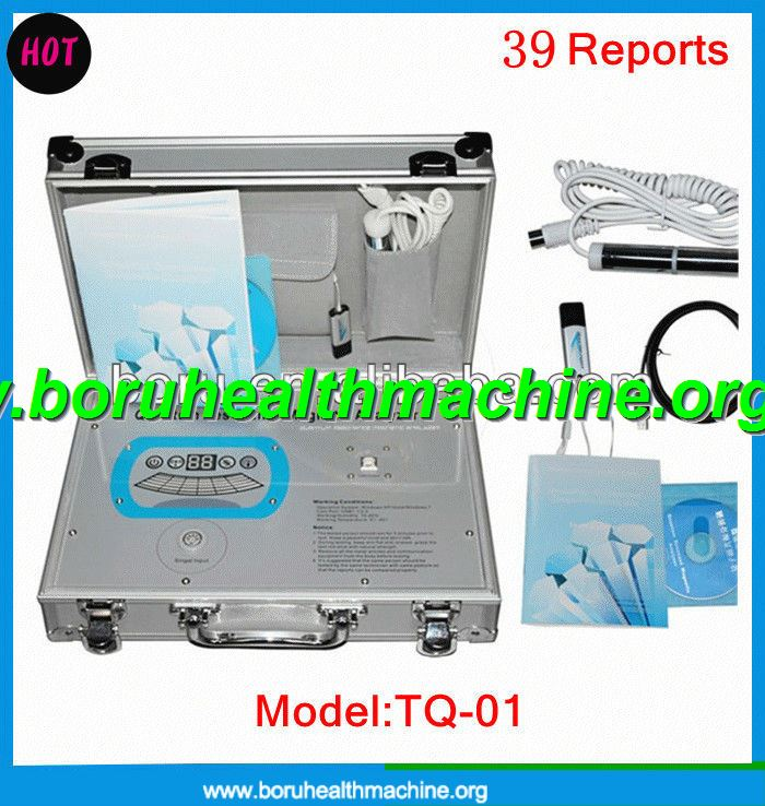 2014 latest Korean Version Quantum Magnetic Analyzer With 39 Reports