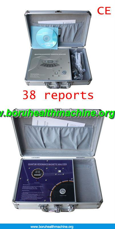 TQ-02 quantum magnetic resonance analyzer with 38 reports