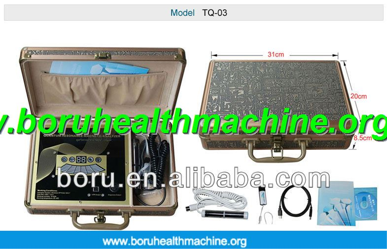 2013 Professional Quantum health analyzer korean version quantum analyzer with 39 reports