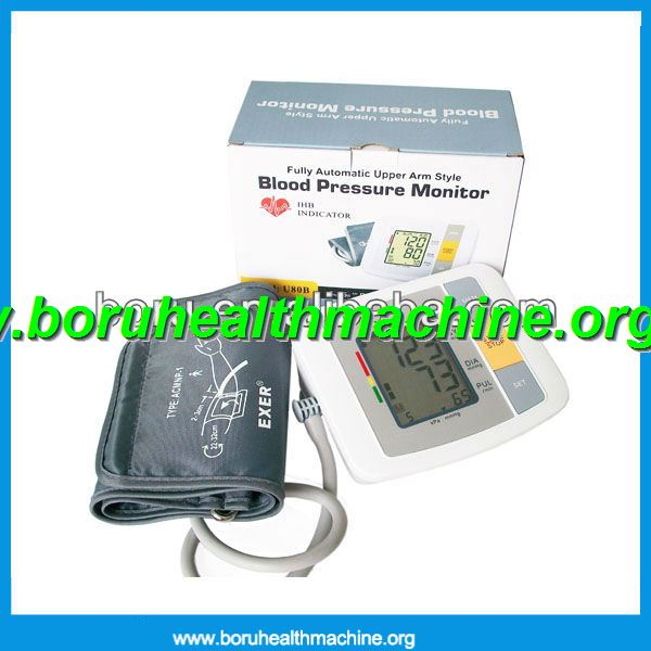 2012 newest Full Automatic Upper arm digital blood pressure monitor