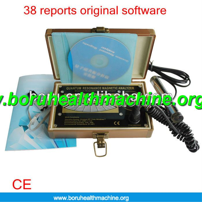 Portable latest 41 reports Quantum Health Analyzer Bio Anlayzer
