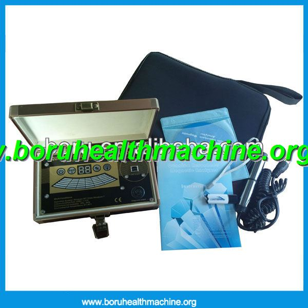 CE Approved 39 reports 2013 Latest Quantum Magnetic Resonance Body Analyzer TQ-S3