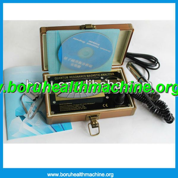 CE approved Newest Egypt interface 2013 Quantum Resonance Magnetic Body Health Analyzer-GERMAN Version