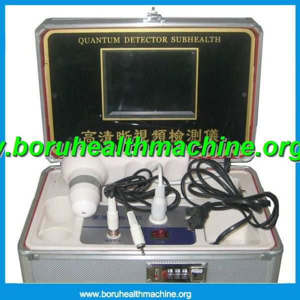 2012 latest Black Aluminum box-type Skin Detecter Machine with 7 inch LCD Display