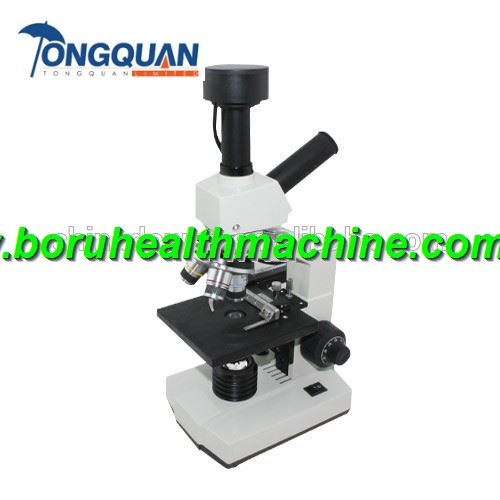 Cheap Aluminum Alloy Hospital Use With 16X eyepiece Electronics Microscope