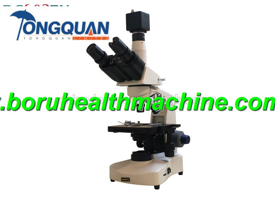 High Resolution CCD Trinocular Micro Science Microscope