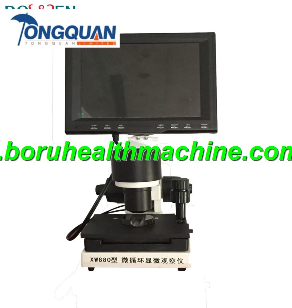 China Manufacturer CE Approved Capillary Nail Fold Microcirculation Microscope