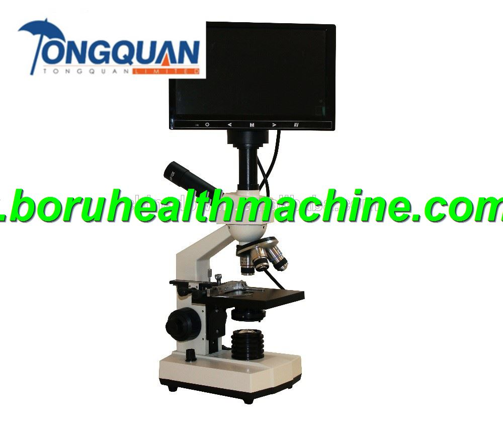 CCD Blood Analysis Digital Stereo Microscope