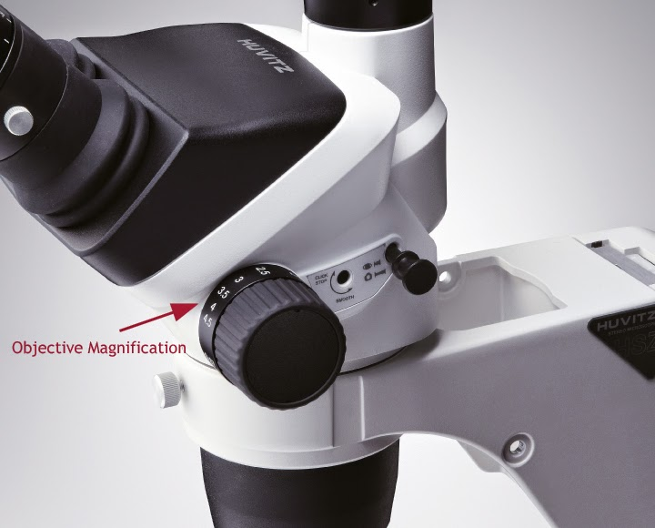 how to find total magnification of a microscope